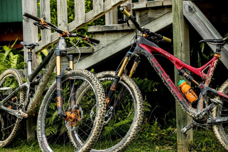 Mountain Bikes At On The Track Lodge