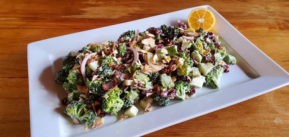 Broccoli Salad On the Track Lodge Nydia Bay